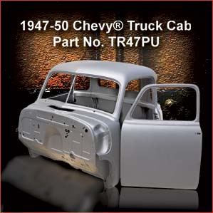 1947-50 Chevrolet Truck Cab overview