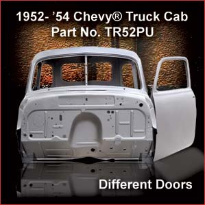 1952-54 Chevrolet Truck Cab overview