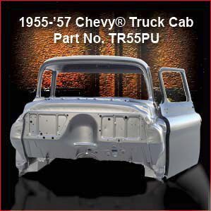 1955-57 Chevrolet Truck Cab Overview
