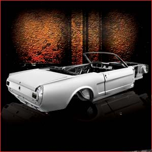 1965-66 Ford Mustang Convertible overview 2