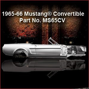 1965-66 Ford Mustang Convertible overview