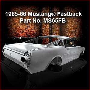 1965 Mustang Fastback Body