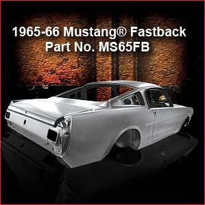 1965 Mustang Fastback Body