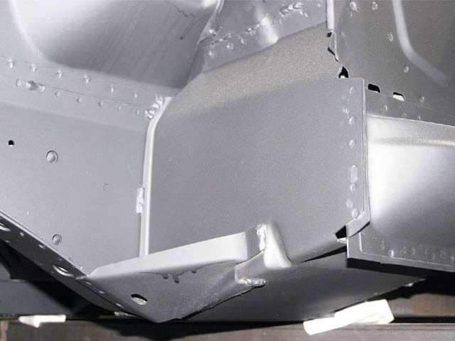 1968 Ford Mustang Convertible Replacement Body Shell