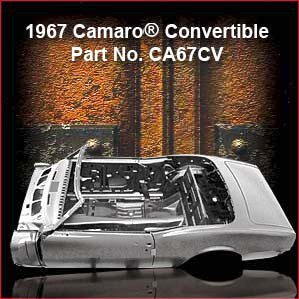 1967 Chevrolet Camaro Convertible overview