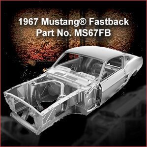 1967 Ford Mustang Fastback overview