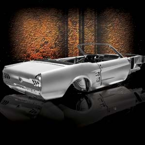 1967 Mustang Convertible - Angle Shot