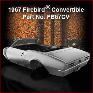 1967 Pontiac Firebird Convertible overview