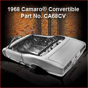 1968 Chevrolet Camaro Convertible overview