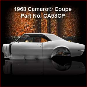 1968 Chevrolet Camaro Coupe overview