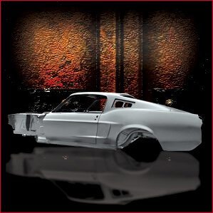 1968 Ford Mustang Fastback overview 2