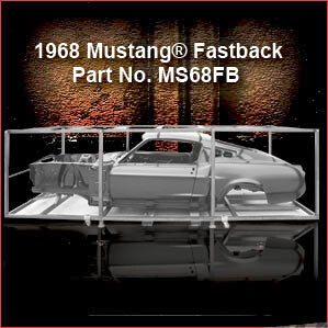 1968 Ford Mustang Fastback overview