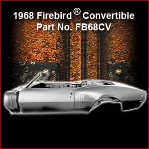 1968 Pontiac Firebird Convertible 2 overview