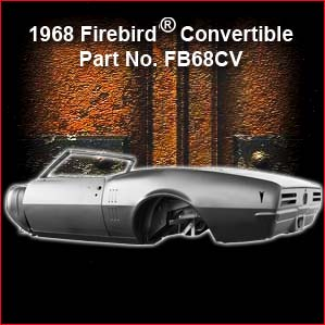 1968 Pontiac Firebird Convertible overview