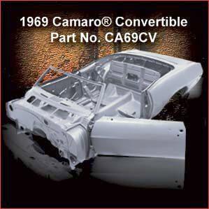 1969 Chevrolet Camaro Convertible overview