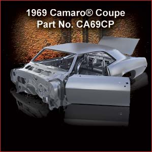 1969 Chevrolet Camaro Coupe overview