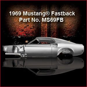 1969 Ford Mustang Fastback overview