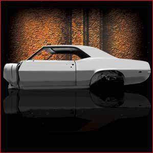 1969 Pontiac Firebird Coupe overview 2