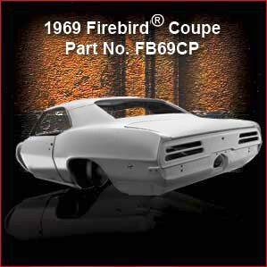 1969 Pontiac Firebird Coupe overview