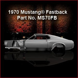 1970 Ford Mustang Fastback overview