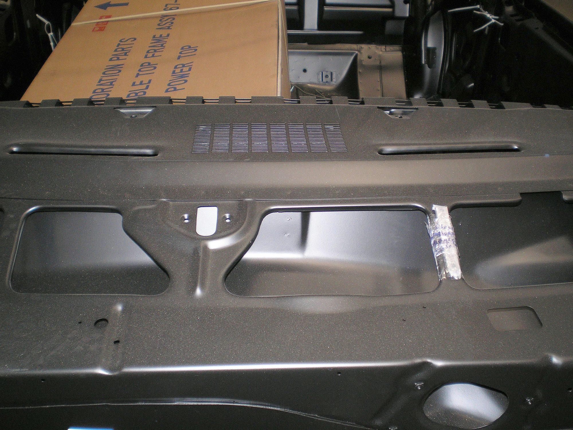 Camaro Cowl on Camaro Rear Quarter Panel