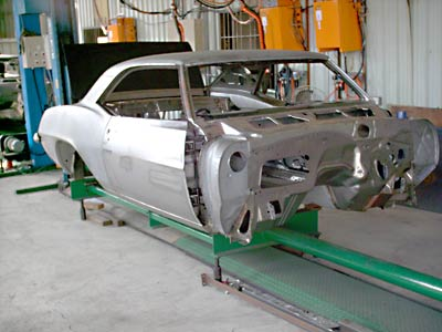 1967 Chevrolet Camaro Coupe Body Shell