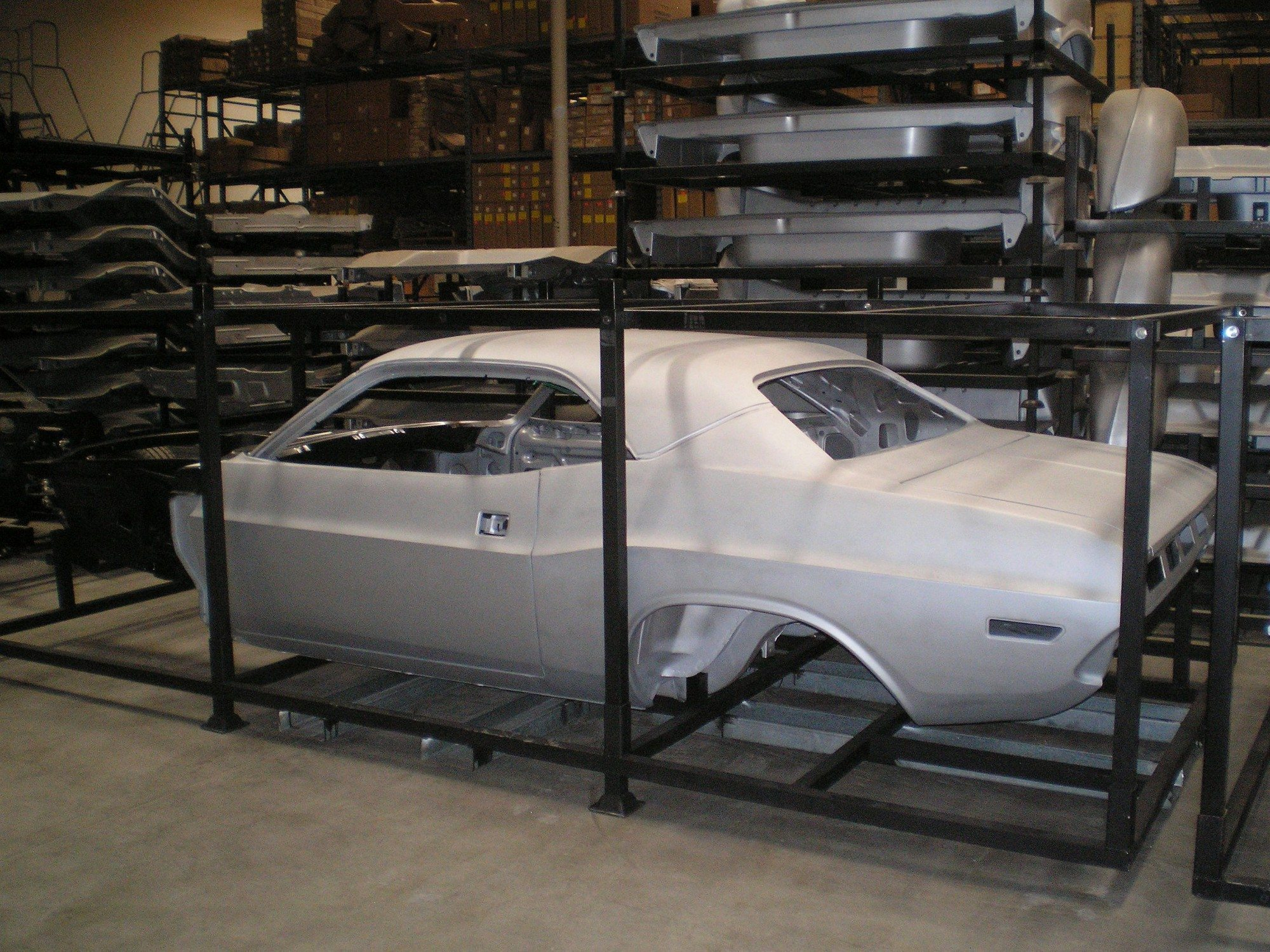 Classic Dodge Challenger >> 1970 Dodge Challenger Classic Car Replacement Bodies
